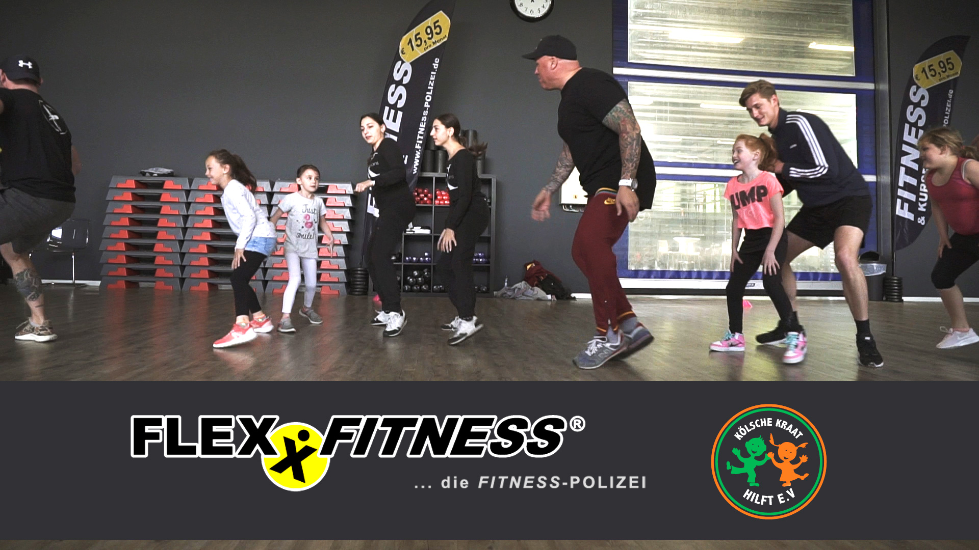 Kinder Fitness und Koch-Event bei FLEXX FITNESS