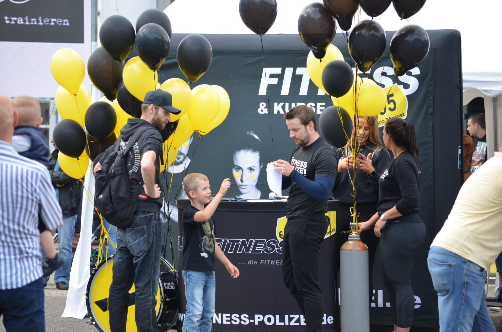 Kinderfest beim Autohaus Levi Zollstock am 7.9.2019